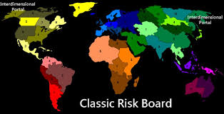 Classic Risk Board Layout