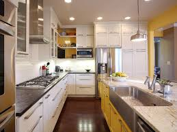Kitchen Paint Colors With Golden Oak Cabinets by Black Kitchen Cabinets Pictures Ideas U0026 Tips From Hgtv Hgtv