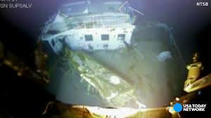 Titanic Sinking Animation Pitch Black by El Faro U0027s Last Hours As Ship Sails Into Storm U0027i U0027m A Goner U0027