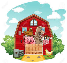 Farm Animals Living In The Barnhouse Royalty Free Cliparts ... Farm Animals Living In The Barnhouse Royalty Free Cliparts Stock Horse Designs Classy 60 Red Barn Silhouette Clip Art Inspiration Design Of Cute Clipart Instant Download File Digital With Clipart Suggestions For Barn On Bnyard Vector Farm Library