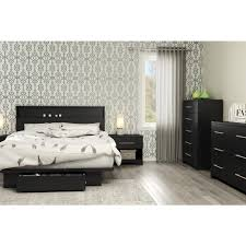 South Shore 6 Drawer Dresser Espresso by South Shore Primo 6 Drawer Pure Black Dresser 3307010 The Home Depot