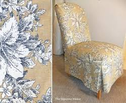 Dining Room Chair Slip Covers Pretty Slipcovers For Parson Chairs Canada