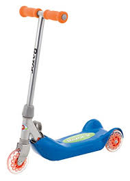 Folding Kiddie Scooter By Razor Is A Stylish And Comfortable For Kids You Can Get This In Either Blue Or Pink Color