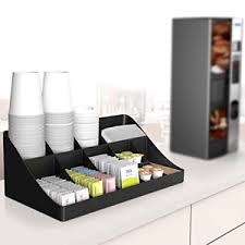 Image Is Loading Cup And Lid Holder Organizer Coffee Stand Station
