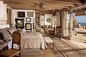 Rustic Bedrooms Michael Lee Malibu California