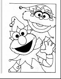 Impressive Elmo Printable Coloring Pages With And Colouring Free