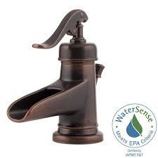 Glacier Bay Bathroom Faucets Instructions by Glacier Bay Mandouri 4 In Centerset 2 Handle Led High Arc