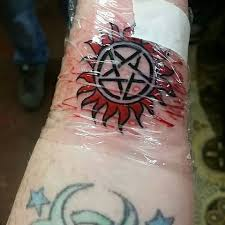 When Youre All Supernatural Fans And Decide To Get Matching Tattoos At