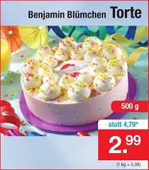 benjamin blümchen torte 500g angebot bei zimmermann