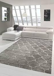 teppich design vintage wohnzimmer teppich orient marokko in grau größe 80x150 cm