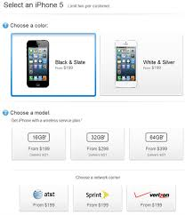 Check Out Pre Order Prices for iPhone 5 In USA Europe and Asia