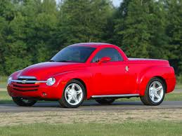 2003 Chevrolet SSR Pickup Convertible - Red - Flat Running Boards ...