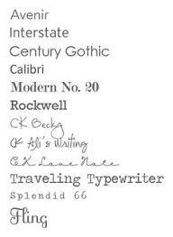 I Like Avenir Century Gothic Modern No 20 Traveling Typewriter Splendid