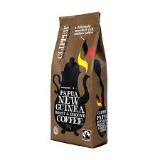 Organic Fairtrade Papua New Guinea Ground Coffee 227 G
