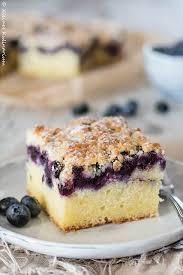blaubeer buttermilch kuchen mit streuseln