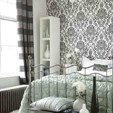 Black White Wallpapers Modern Bedroom Decorating Ideas