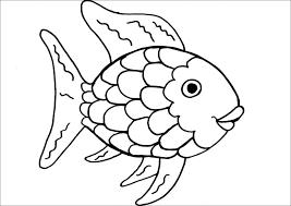 Fish Bowl Coloring Page Kinderart Animal Pages Wallpaper