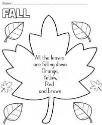 FALL POEM Did Not Use This Template
