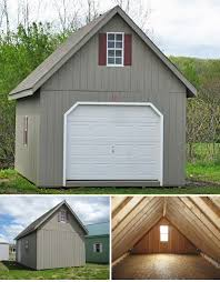 18 best Two Story Single Car Garage Stoltzfus Structures images