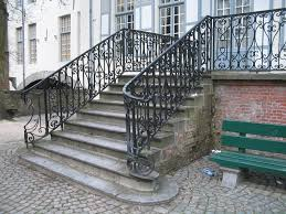 Metal Outside Stair Railing : Modern Outside Stair Railing ... Outdoor Wrought Iron Stair Railings Fine The Cheapest Exterior Handrail Moneysaving Ideas Youtube Decorations Modern Indoor Railing Kits Systems For Your Steel Cable Railing Is A Good Traditional Modern Mix Glass Railings Exterior Wooden Cap Glass 100_4199jpg 23041728 Pinterest Iron Stairs Amusing Wrought Handrails Fascangwughtiron Outside Metal Staircase Outdoor Home Insight How To Install Traditional Builddirect Porch Hgtv