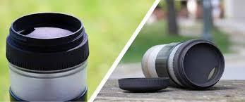 Pascal Press Travel Mug With Portable Coffee Maker