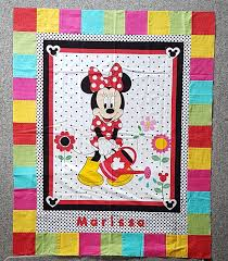 quiltmekiwi Minnie Mouse And a proper finish of my own