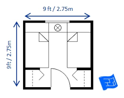 Small Bedroom Design Twin 9 X 9ft