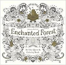 Enchanted Forest An Inky Quest And Coloring Book Turtleback School Library Binding Edition Johanna Basford 9780606371186 Amazon Books