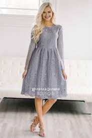 beautiful midnight lilac lace modest dress modest dress for
