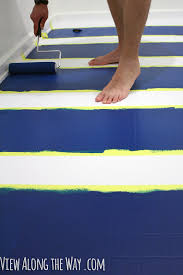 Laying Tile Over Linoleum Concrete by How To Paint Vinyl Or Linoleum Sheet Flooring