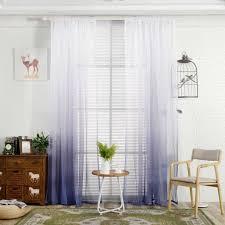 bunt tm dekoration fenster vorhänge gardinen gradient