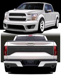 2018 Saleen F150 Finally Shown...wasn't Worth The Wait. - Ford F150 ...