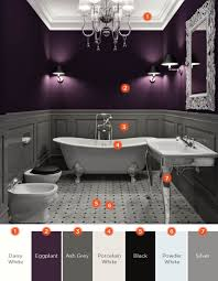 20 Relaxing Bathroom Color Schemes | Shutterfly 17 Cheerful Ideas To Decorate Functional Colorful Bathroom 30 Color Schemes You Never Knew Wanted 77 Floor Tile Wwwmichelenailscom Home Thrilling Bedroom And Accsories Sets With Wall Art Modern Purple Decor Elegant Design Marvelous Unique What Are Good Office Rooms Contemporary Best Colors For Elle Paint That Always Look Fresh And Clean Curtains Pretty Girl In Neon Bath