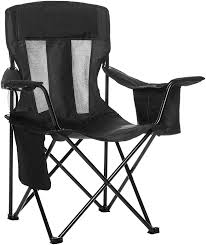 Amazon.com : AmazonBasics Camping Chair With Cooler, Black (Mesh ... Top 10 Best Camping Chairs Chairman Chair Heavy Duty Awesome Luxury Lweight Plastic Heavy Duty Folding Chair Pnic Garden Camping Bbq Banquet 119lb Outdoor Folding Steel Frame Mesh Seat Directors W Side Table Cup Holder Storage 30 New Arrivals Rated Oak Creek Hammock With Rain Fly Mosquito Net Tree Kingcamp Breathable Holder And Pocket The 8 Of 2019 Plastic Indoor Office Shop Outsunny Director Free Oversized Kgpin Arm 6 Cup Holders 400lbs Weight