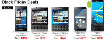 BlackBerry Black Friday Sale Up To 53 Percent f Select Smartphones