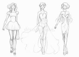 Download Sketch Designer Clothes Fashion Stock Illustration