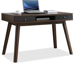 Shoal Creek Desk In Jamocha Wood by Desks The Brick