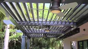 Louvered Patio Covers California by Arcadia Adjustable Roof System Youtube