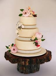 Rustic Australian Native Wedding Cake