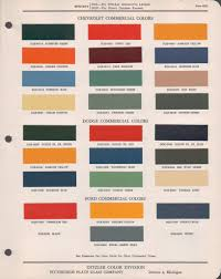100 Ford Truck Colors Canadian Paint Codes Paint Chips Dodge S Antique