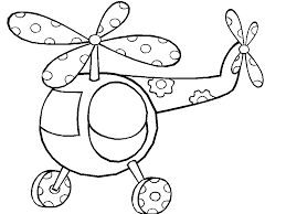 Helicopter Coloring Pages 94