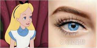 Prescription Halloween Contacts by Alice In Wonderland Mad Hatter Contact Lenses For Halloween Costume