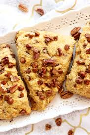 Pumpkin White Chocolate Chip Scones by Sweet Potato Pecan Pie Scones