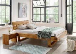 premium collection by home affaire schlafzimmer set ultima 3 tlg massivholz in balken optik