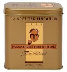 MEHMET EFENDI TURKISH COFFEE 12X6 Gr