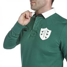 ireland 1874 plain rugby l s jersey casual from irfu uk