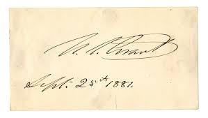 Ulysses S Grant Signature