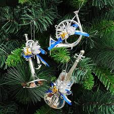 Christmas Musical Instrument Pendant Tree Ornaments 15cm Light Shape 3 20g In From Home Garden On