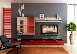 Red And Black Living Room Decorating Ideas by Amazing Black And White With Red Accent Living Room Idea In Modern