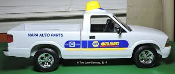 NAPA Auto Parts Delivery Truck 2002 Chevy S-10 Pickup 1:12 Scale ...